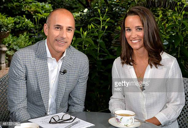 Matt Lauer sits down with Pippa Middleton in her first-ever television interview --