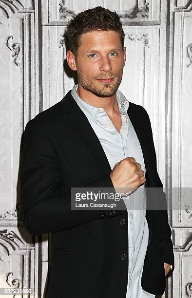 Matt Lauria attends AOL Build Speaker Series to disuss Kingdom at AOL Studios In New York on May 19 2016 in New York City
