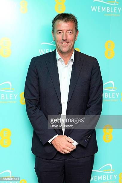 Matt Le Tissier at Hilton London Wembley to celebrate the next stage of the partnership between EE and Wembley Stadium on September 23 2014 in...