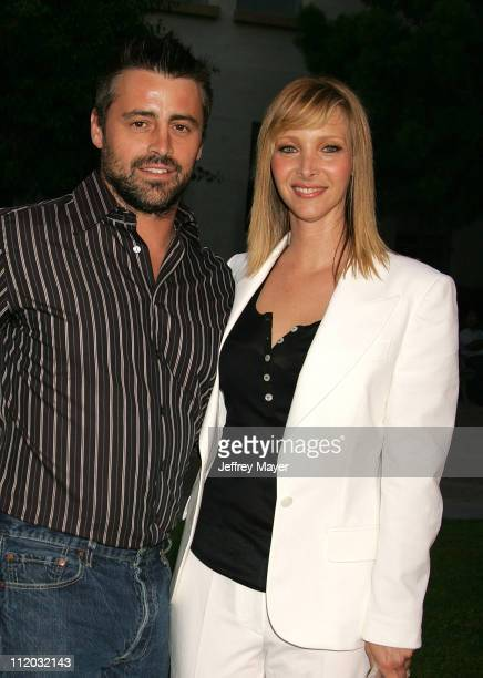 Matt LeBlanc and Lisa Kudrow during The Comeback HBO Los Angeles Premiere Arrivals at Paramount Theater in Hollywood California United States