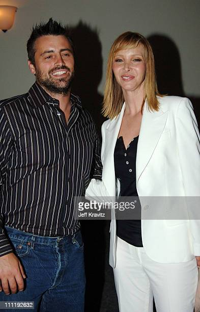 Matt LeBlanc and Lisa Kudrow during 'The Comeback' HBO Los Angeles Premiere After Party at Paramount Pictures in Hollywood California United States