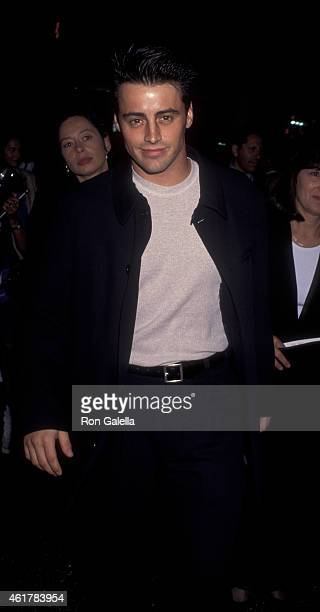 Matt LeBlanc attends the world premiere of 'Waterworld' on April 27 1995 at Mann Chinese Theater in Hollywood California