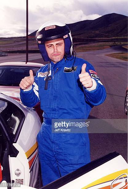 Matt LeBlanc during 1996 Toyota Celebrity Race in Long Beach California United States