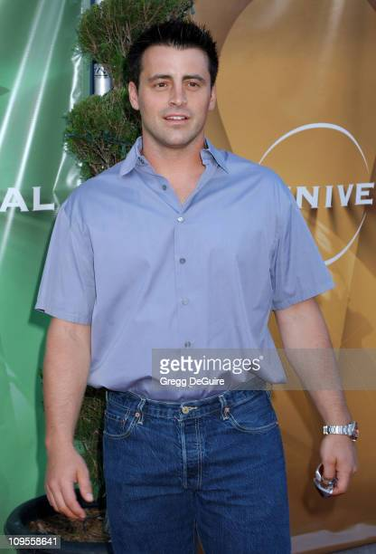 Matt LeBlanc during 2004 NBC All Star Party Arrivals at Universal Studios in Universal City California United States