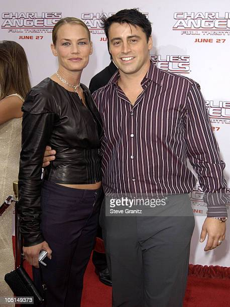 """Matt LeBlanc during """"Charlie's Angels 2 - Full Throttle"""" Premiere at Mann's Chinese Theater in Hollywood, California, United States."""