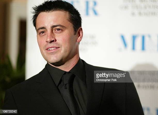 Matt LeBlanc during The Museum Of Television Radio To Honor CBS News's Dan Rather And Friends Producing Team at The Beverly Hills Hotel in Beverly...
