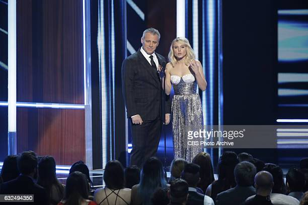 Matt LeBlanc, Kristen Bell during the PEOPLE'S CHOICE AWARDS 2017, the only major awards show where fans determine the nominees and winners across...