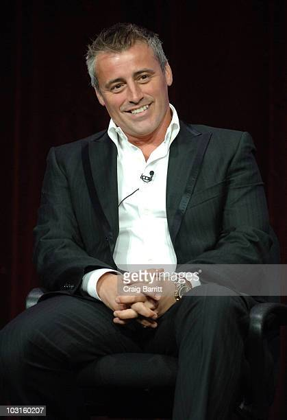 Matt LeBlanc speaks at the Episodes panel during the 2010 CBS Summer TCA tour Day 2 at The Beverly Hilton hotel on July 29 2010 in Beverly Hills...