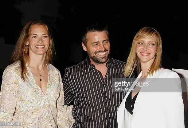 Matt LeBlanc wife Melissa McKnight and Lisa Kudrow
