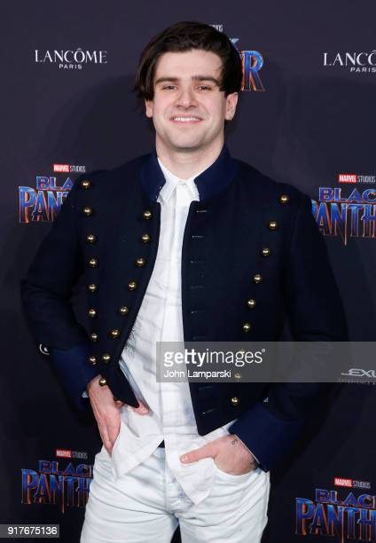 Matt Legrand attends Marvel Studios Presents Black Panther Welcome To Wakanda during February 2018 New York Fashion Week The Shows at Industria...