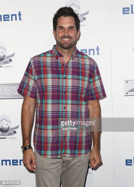 Matt Leinart attends Matt Leinart Foundation's 9th Annual Celebrity Bowl at Lucky Strike Lanes on July 13 2017 in Hollywood California
