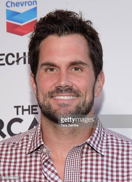Matt Leinart hosts the 10th Annual Celebrity Bowl for Charity at Lucky Strike Lanes on July 14 2016 in Hollywood California