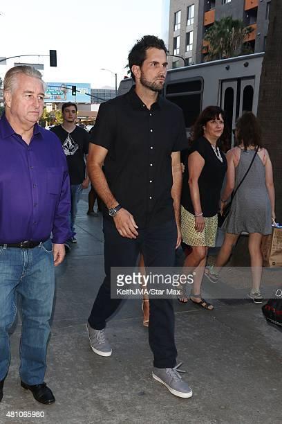 Matt Leinart is seen on July 16 2015 in Los Angeles California