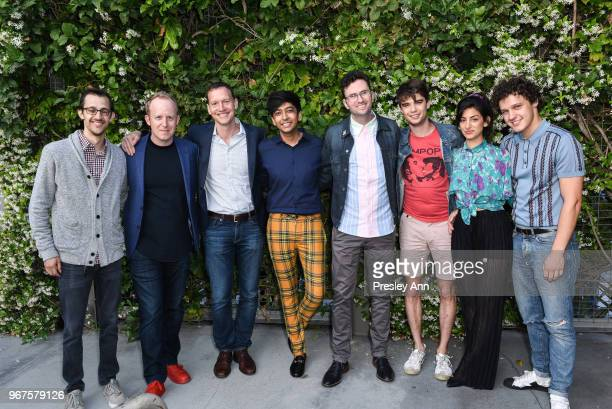 Matt Levin Ian Bricke Nicky Weinstock Nik Dodani Craig Johnson Daniel Doheny Ayden Mayeri and Antonio Marziale attend Special Screening And QA For...
