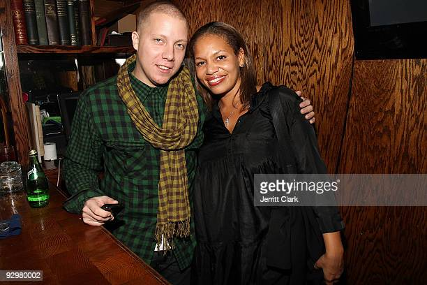 Matt Levine and Quinn Rhone attend Melanie Fiona The Bridge album release party at The Eldridge on November 10 2009 in New York City