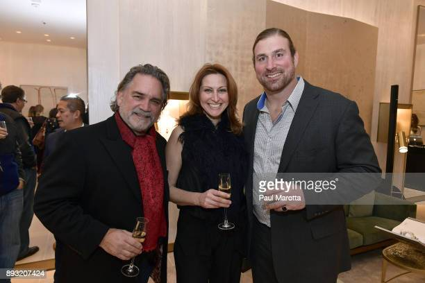 Matt Light and guests attend the David Yurman Boston store event to support the Matt Light Foundation on December 14 2017 in Boston Massachusetts