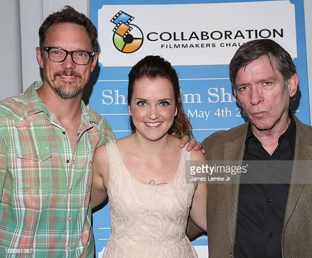 Matt Lillard Bethany Orr and Kurt Loder attend the 2013 Collaboration Filmmakers Challenge Special Screening Awards Ceremony held at the Harmony Gold...