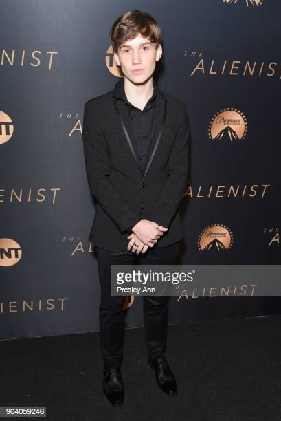 Matt Lintz attends Premiere Of TNT's The Alienist Arrivals on January 11 2018 in Los Angeles California