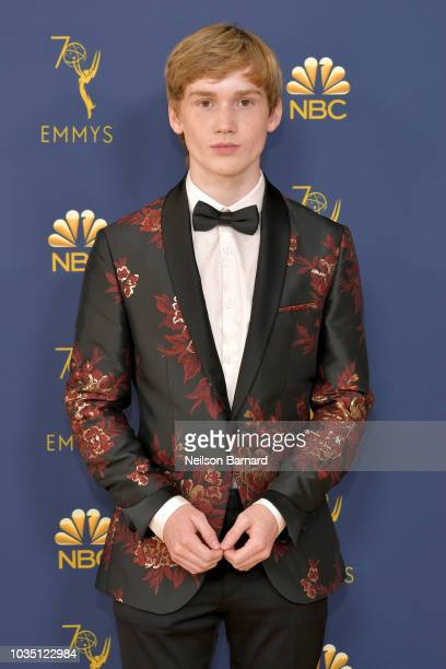 Matt Lintz attends the 70th Emmy Awards at Microsoft Theater on September 17 2018 in Los Angeles California