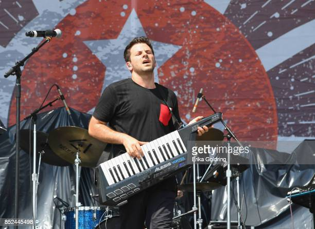 Matt Lipkins of the Shadowboxers performs during the Pilgrimage Music Cultural Festival 2017 on September 23 2017 in Franklin Tennessee
