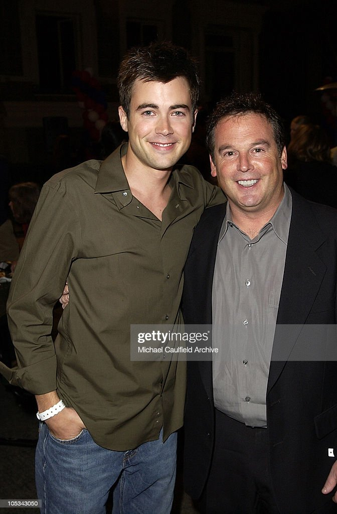 Matt Long and David Janollari, president of WB Entertainment