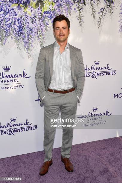 Matt Long attends the 2018 Hallmark Channel Summer TCA at Private Residence on July 26 2018 in Beverly Hills California