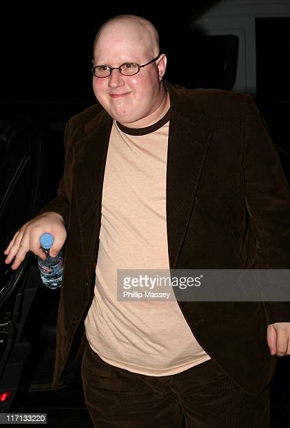 Matt Lucas during Guests Arriving at The Late Late Show with Pat Kenny in Dublin - September 22, 2006 at RTE Studios in Dublin, Ireland.