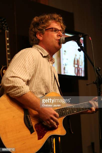 Matt Mackelcan performs at the 2009 Los Angeles Film Festival's Matt Mackelcan Event at the Zone Perfect Live.Create Lounge on June 23, 2009 in...