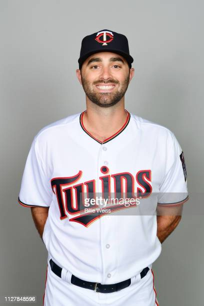 Matt Magill of the Minnesota Twins poses during Photo Day on Friday February 22 2019 at CenturyLink Sports Complex in Fort Myers Florida