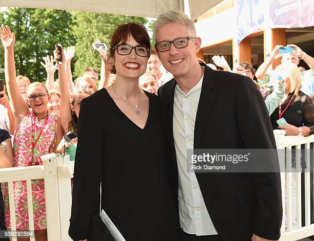 Matt Maher and Kristin Fisher attends the 4th Annual KLOVE Fan Awards at The Grand Ole Opry House on June 5 2016 in Nashville Tennessee