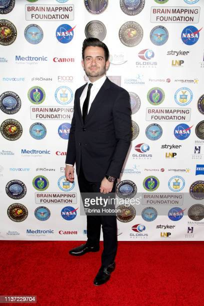 Matt Mahvi attends the 16th annual 'Gathering for Cure' black tie awards gala of Brain Mapping Foundation on March 16 2019 in Los Angeles California