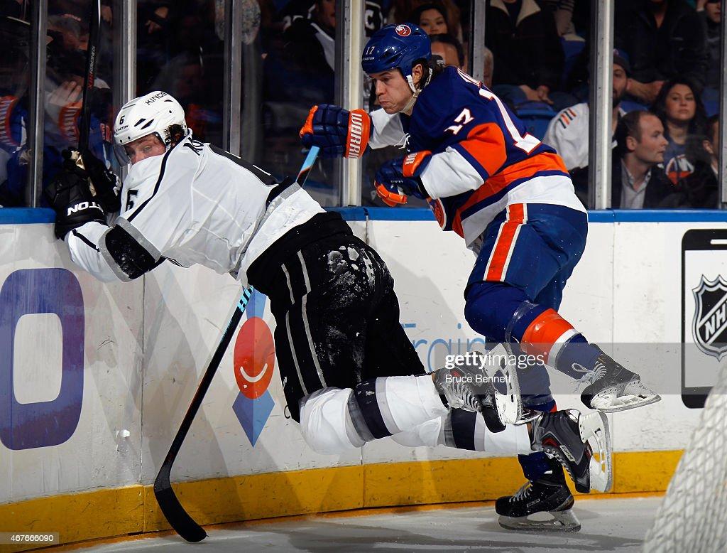 Los Angeles Kings v New York Islanders : News Photo