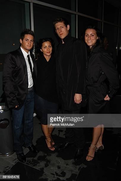 Matt Martinelli Marzulla Barbeshandes Nick Hunter and Nora Flaherty attend CALVIN KLEIN UNDERWEAR Dinner Party for Natalia Vodianova and Freddie...