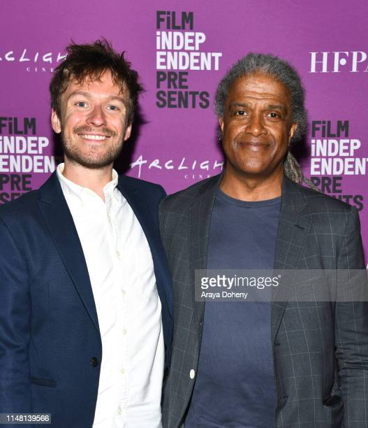 Matt Maude and Elvis Mitchell at the Film Independent presents special screening of General Magic at ArcLight Hollywood on May 09 2019 in Hollywood...