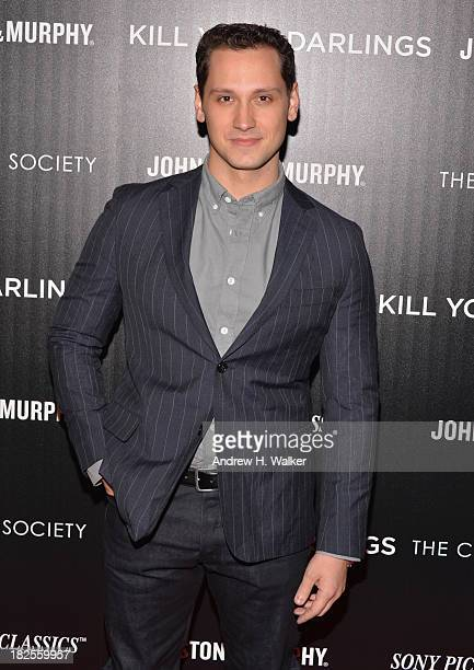 Matt McGorry attends The Cinema Society and Johnston Murphy screening of Sony Pictures Classics' Kill Your Darlings at Paris Theater on September 30...