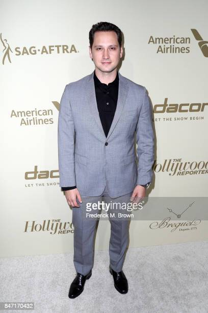 Matt McGorry attends The Hollywood Reporter and SAGAFTRA Inaugural Emmy Nominees Night presented by American Airlines Breguet and Dacor at the...