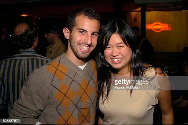 Matt McLernon and Karen Chew attend Drambuie Den Event with Special Guest Heather Vandeven at Level V on October 22 2007 in New York