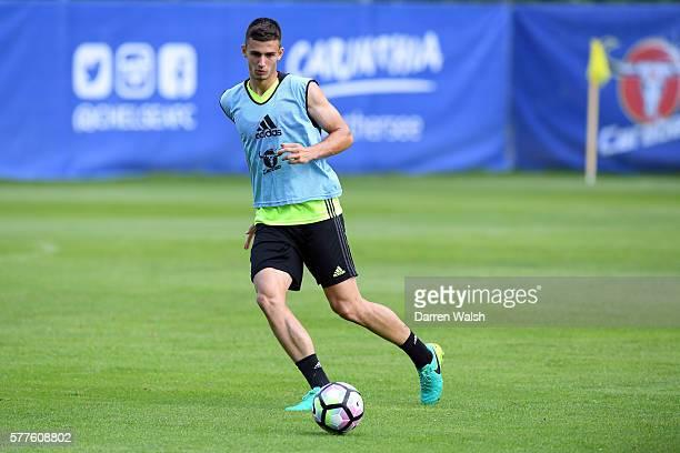Matt Miazga during a Chelsea training session at Waldarena on July 19 2016 in Velden Austria