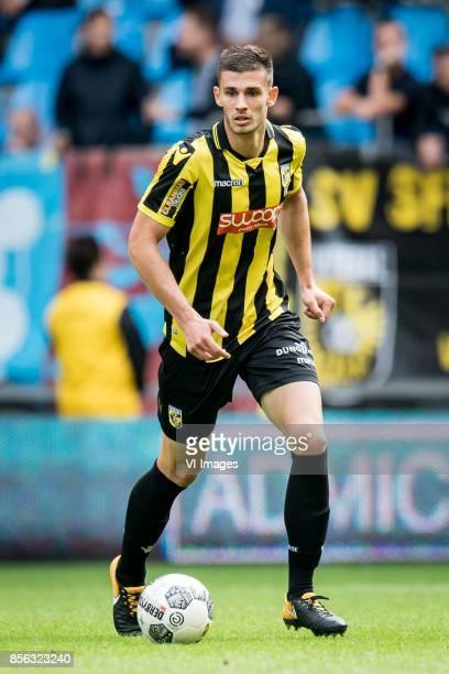 Matt Miazga of Vitesse during the Dutch Eredivisie match between Vitesse Arnhem and FC Utrecht at Gelredome on October 01 2017 in Arnhem The...