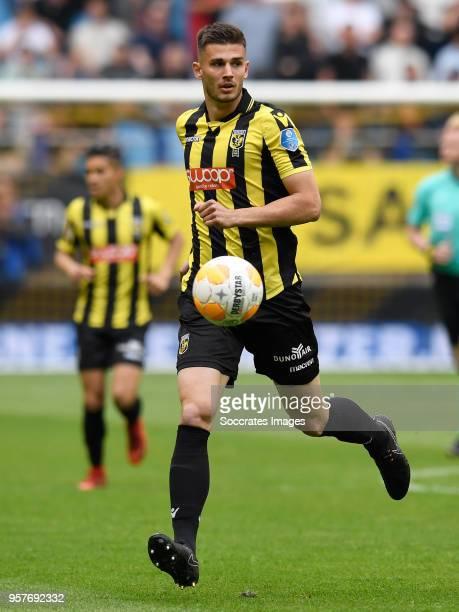 Matt Miazga of Vitesse during the Dutch Eredivisie match between Vitesse v ADO Den Haag at the GelreDome on May 12 2018 in Arnhem Netherlands