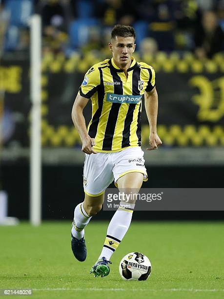 Matt Miazga of Vitesseduring the Dutch Eredivisie match between Vitesse Arnhem and Heracles Almelo at Gelredome on November 06 2016 in Arnhem The...