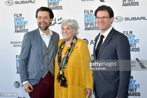 Matt Miller Tyne Daly and Daryl Freimark attends the 2019 Film Independent Spirit Awards on February 23 2019 in Santa Monica California