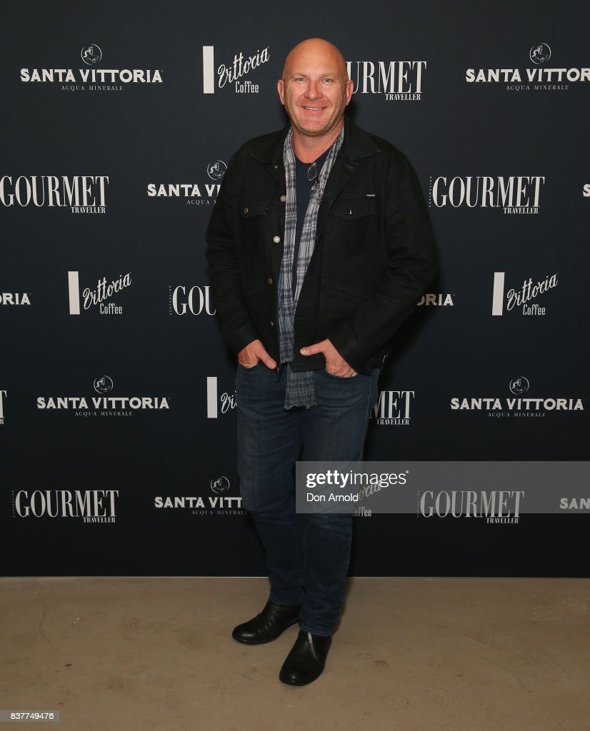Matt Moran poses at the 2018 Gourmet Traveller National Restaurant Awards at Chin Chin Restaurant on August 23, 2017 in Sydney, Australia.