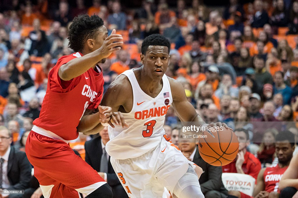Cornell v Syracuse : News Photo