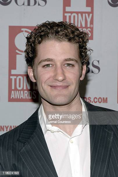 Matt Morrison during 59th Annual Tony Awards 'Meet The Nominees' Press Reception at The View at The Marriot Marquis in New York City New York United...