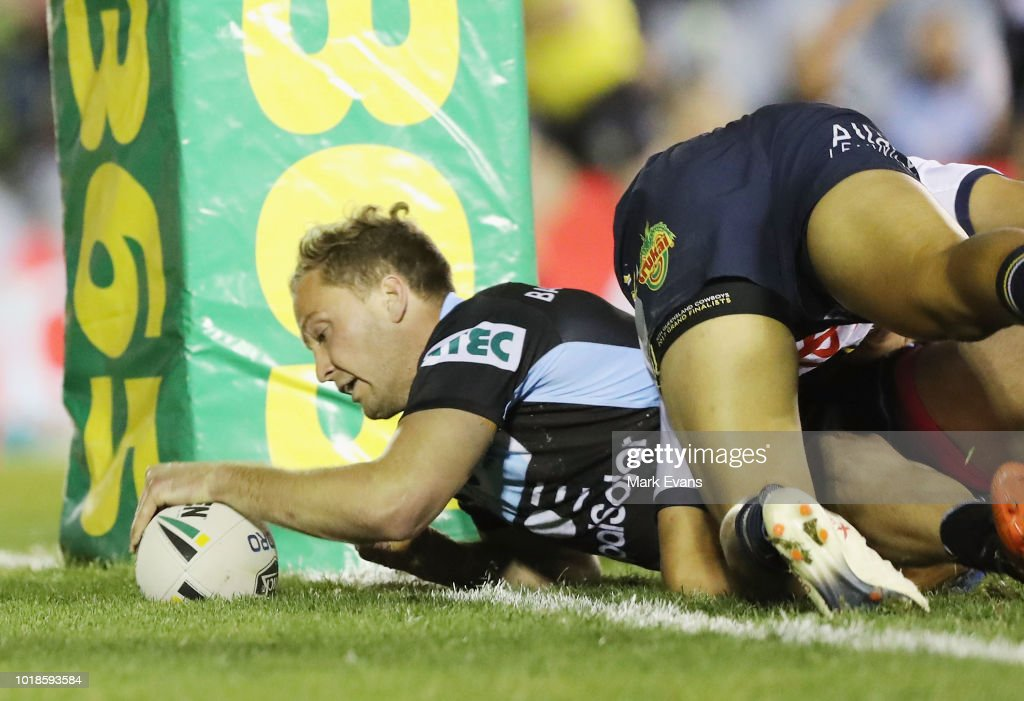NRL Rd 23 - Sharks v Cowboys