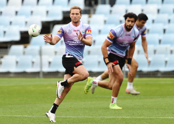 AUS: Cronulla Sharks Training Session