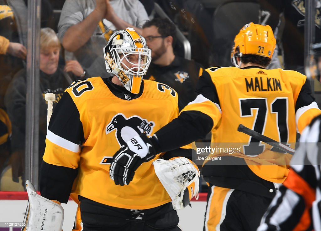 Columbus Blue Jackets v Pittsburgh Penguins : News Photo
