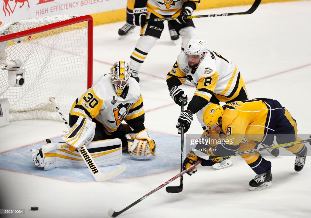 2017 NHL Stanley Cup Final - Game Three : News Photo