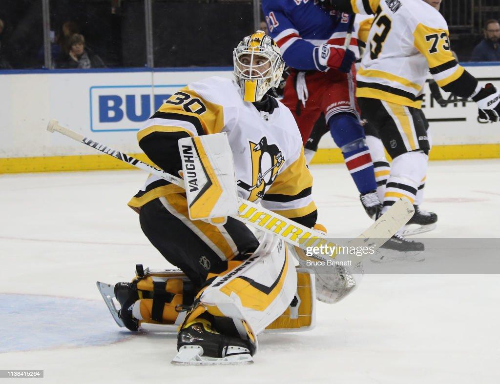 Pittsburgh Penguins v New York Rangers : News Photo